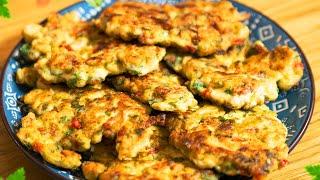 Вкуснейшие рубленые куриные котлеты с сыром Быстрый и простой рецепт