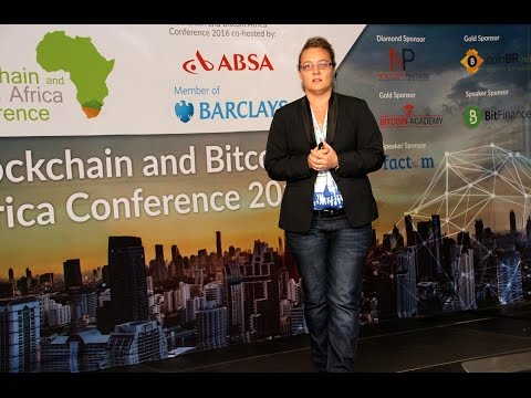 The Blockchain & Bitcoin africa Conference 2016 - Leanne Kemp