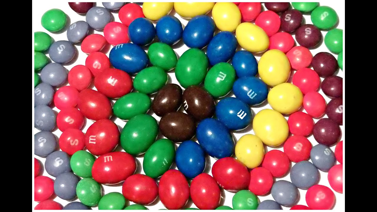learn colors numbers with m m and skittles by ingrid