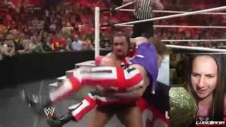 WWE Raw 5/19/14 Rusev vs Union Jacks Live Commentary