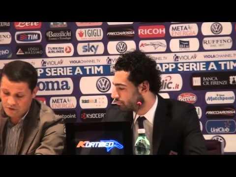 "Salah: ""A Firenze per vincere. Non penso al Chelsea"""
