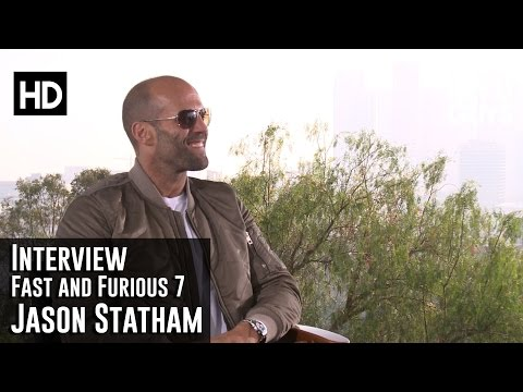 Fast and Furious 7 Interview - Jason Statham