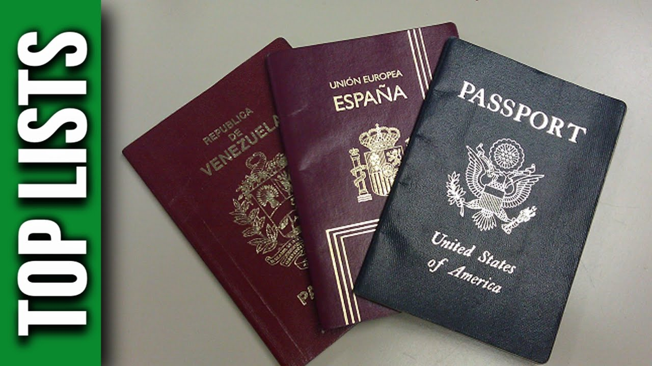 Top 10 most powerful passports for visa free travel youtube thecheapjerseys Image collections