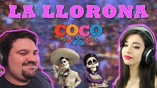 LA LLORONA - COCO || Cover by Luna ft Davide Marchese || Live