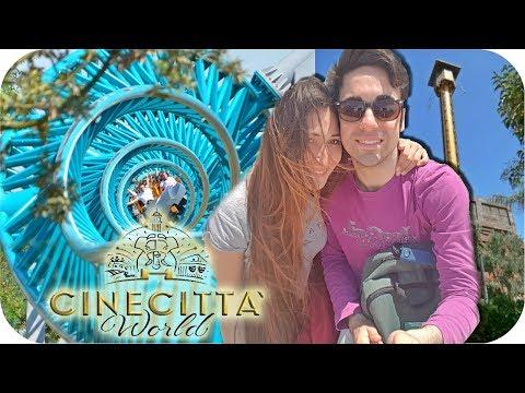 Cinecittà World, Roma: TUTTO IL PARCO IN UN VIDEO