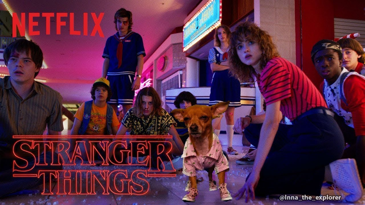 Stranger things featuring Inna the explorer