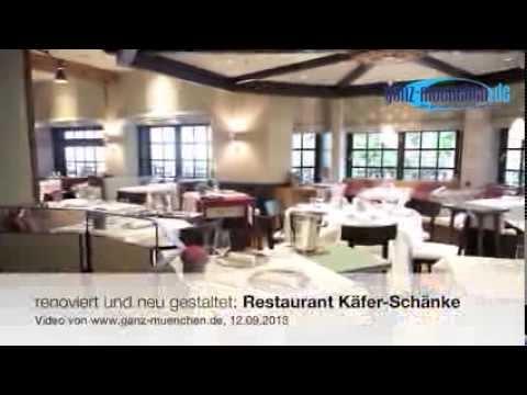 Restaurant Käfer-Schänke: renoviert und neu gestaltet - YouTube