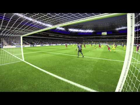 Eliaquim Mangala Goal Fifa 15 UT