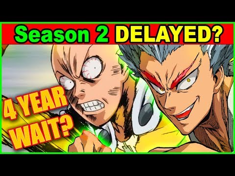 WHEN is One Punch Man SEASON 2 Coming? 4 Year DELAY like Attack on Titan Season 2?