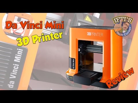 XYZ-Printing - Da Vinci Mini W : 3D Printer for Beginners! -