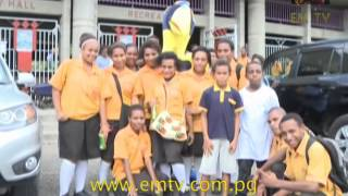Port Moresby National High School Receives A Special Visitor