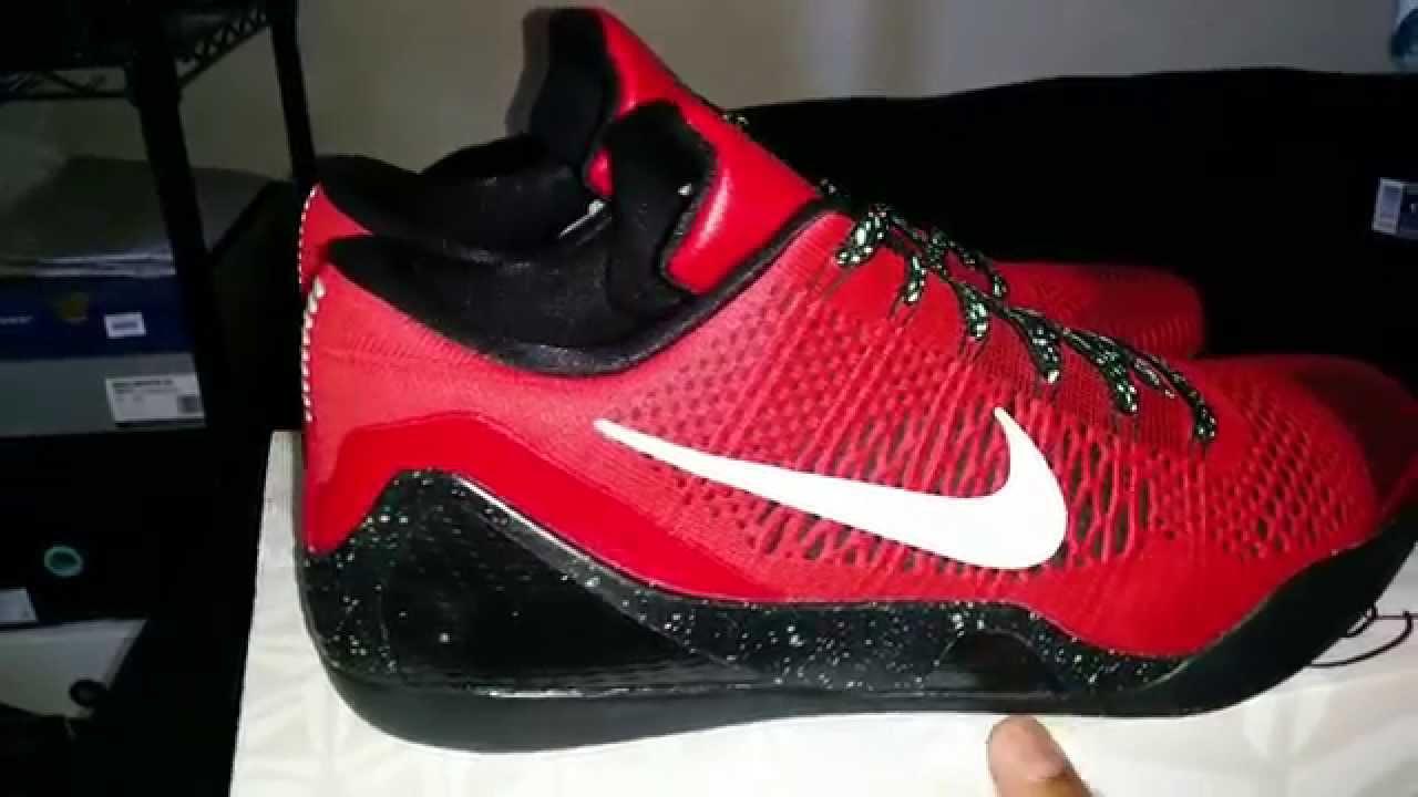 detailing a3ae3 b2a79 Nike Kobe 9 IX Elite Low University Red Review