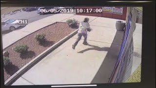Surveillance Video From Deadly Nail Salon Shooting In Phoenix