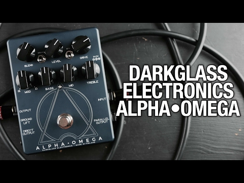 Darkglass Alpha Omega - Bass Demo