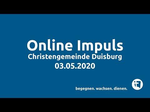 Online-Impuls // Christengemeinde Duisburg // 03.05.2020