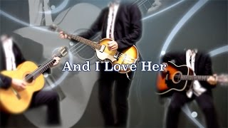 THE BEATLES : And I Love Her - instrumental cover