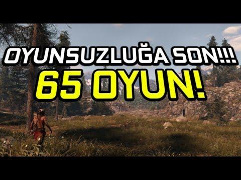 OYNAMAYA DEĞER 65 OYUN! (İZLEYİCİ TAVSİYESİ!)
