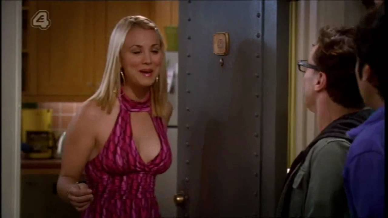 Big bang kaley cuoco hot