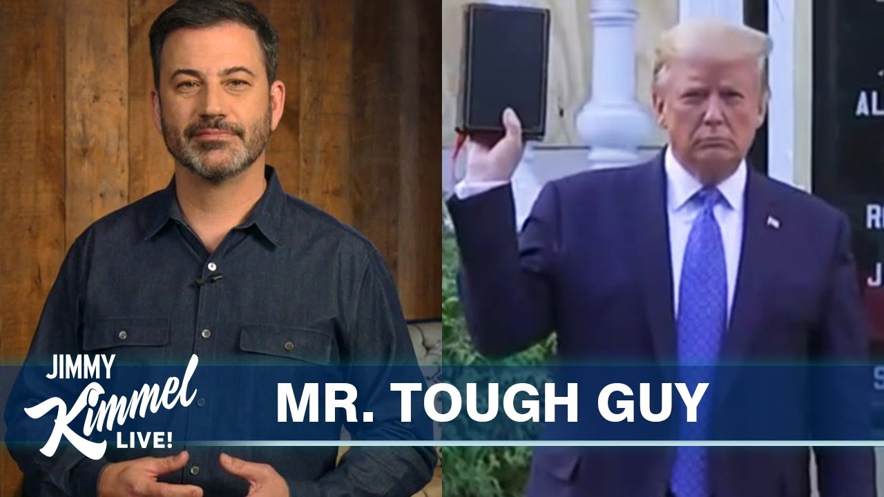 Jimmy Kimmel on Protests, Trump's Bible Photo Op & White Privilege