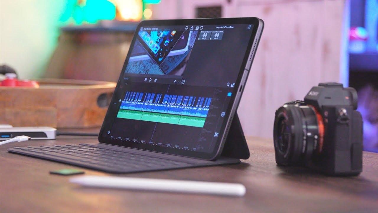 My iPad Pro 4K Video Editing Workflow! (2018)
