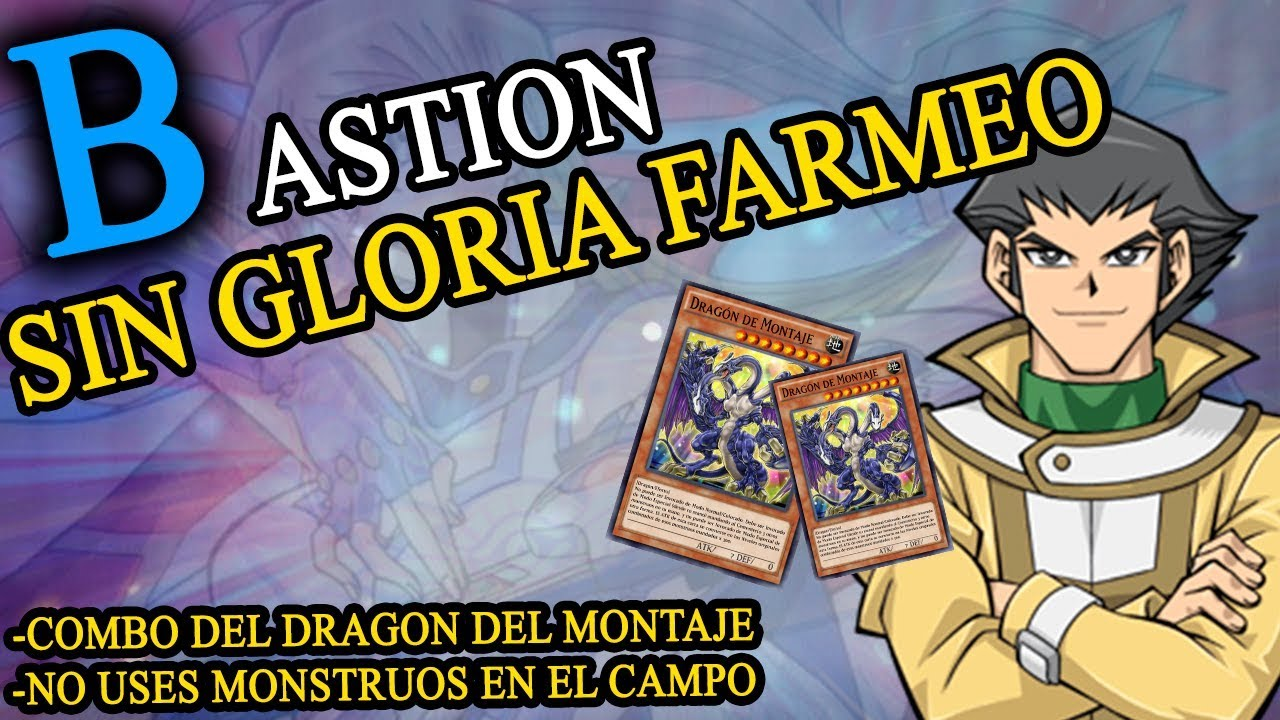 FARMEO BASTION SIN GLORIA (NO USES MONSTRUOS EN EL CAMPO)- Yugioh! Duel Links