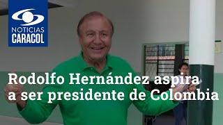Rodolfo Hernández, el polémico exalcalde de Bucaramanga que aspira a ser presidente de Colombia