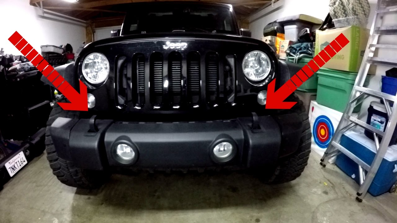How To Remove A Jeep Jk Bumper Youtube