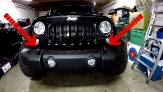 How to Remove a Jeep JK Bumper
