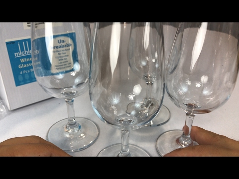 MICHLEY Unbreakable Shatterproof Plastic Wine Glasses Review