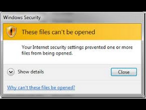 These Files Can\u0027t Be Opened Solution [2017] - YouTube