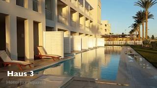 Rundgang Hotel Jaz Aquaviva - Makadi Bay - Hurghada - Ägypten 09.12.2017