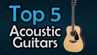 ▶️ Best Acoustic Guitars For Beginners - Top 5 Guitars in 2017!