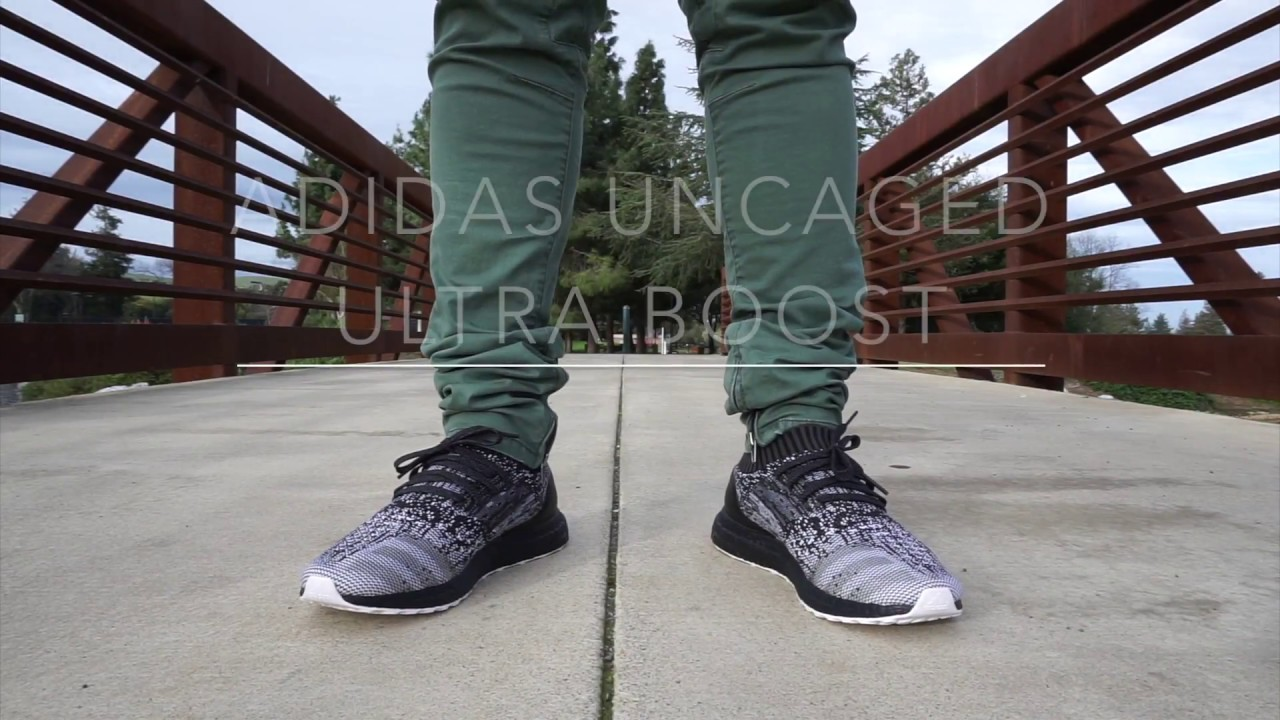 8e375c8aa ดาวน์โหลดเพลง Early Release  Adidas Ultra Boost Uncaged Glitch Black Boost  With On Feet หรือฟังที่ VMiXe