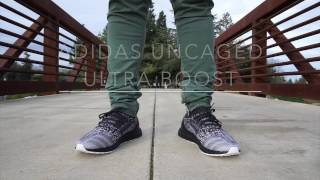 9c1992549 Early Release  Adidas Ultra Boost Uncaged Glitch Black Boost With On Feet