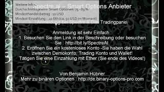 Spectre AI - Erste Binäre Optionen Börse - Smart Options & Smart CFD