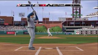 Major League Baseball MLB 2K9 - Xbox 360 - HD - Real Gameplay - Longoria Homer ! !