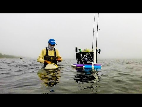 diy floating wade fishing busket hd video 74 youtube