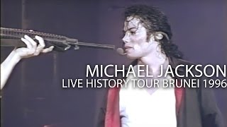 "Michael Jackson - ""Earth Song"" live HIStory Tour in Brunei 1996 - Enhanced - HD"