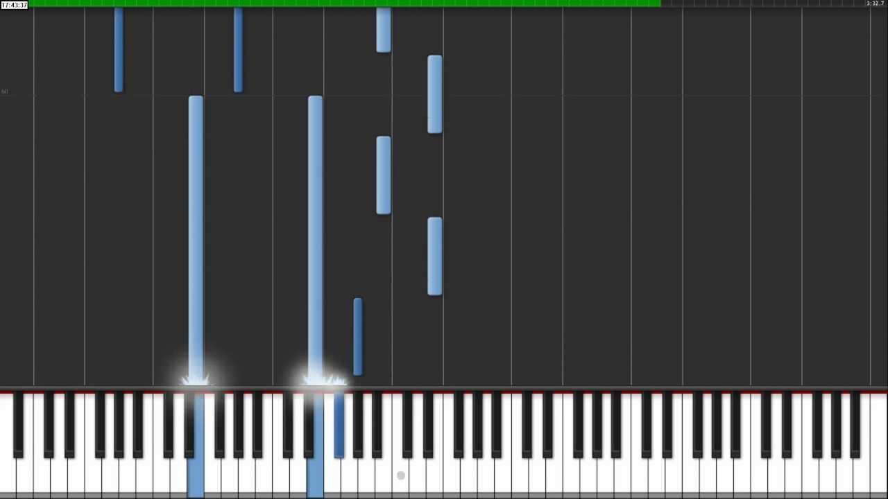 Strobe transcription piano tutorial.