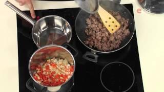 лазанья болоньезе - Рецепт (ТВ