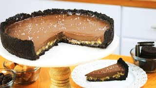 Salted Caramel Chocolate Pecan Pie - It's Raining Flour Episode 113