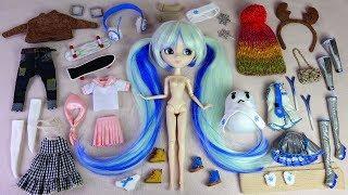 ★푸리프 하츠네미쿠 보컬로이드 스노우미쿠 한정개봉후기★Pullip Hatsune Miku Vocaloid Limited doll Unboxing/Snow Miku