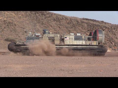 Training on Djibouti Beach