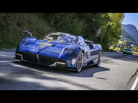 FIRST $2.4 MILLION PAGANI HUAYRA ROADSTER ON CANADIAN SOIL! * DIAMOND RALLY *