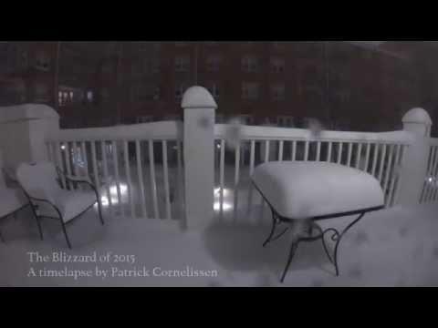 Boston Blizzard 2015