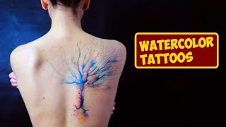 Video Eye-Catching Watercolor Tattoos That You Will Love download MP3, 3GP, MP4, WEBM, AVI, FLV Agustus 2018