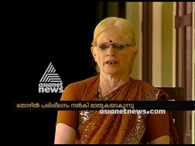 KV Premalatha Visually impaired Vocational Trainer from Kozhikode | Sound for Sight