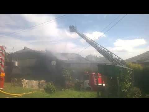 Incendio en una vivienda de Ourol