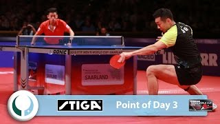 2016 ITTF Men's World Cup I Point of the Day 3