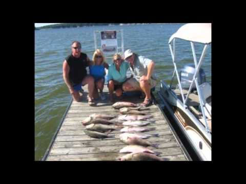 How to catch hybrid striper bass on Truman Lake - YouTube